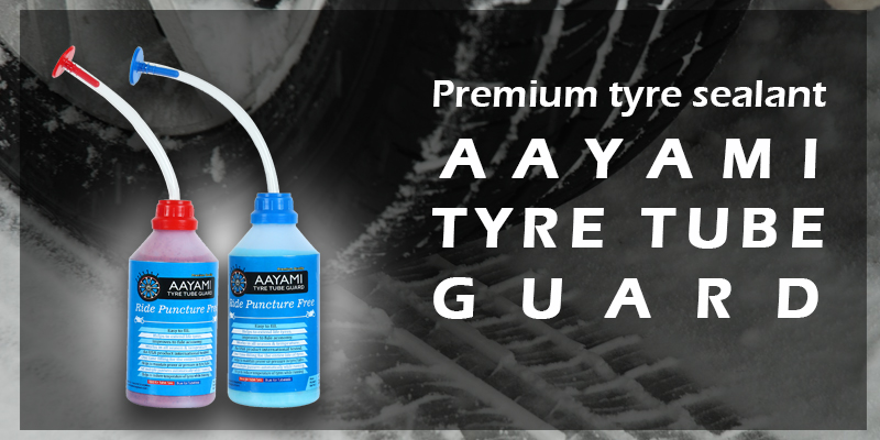 Premium Tyre Sealant – Aayami tyre tube guard